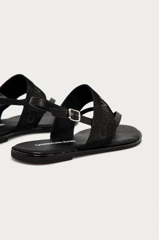 černá Calvin Klein Jeans - Sandály