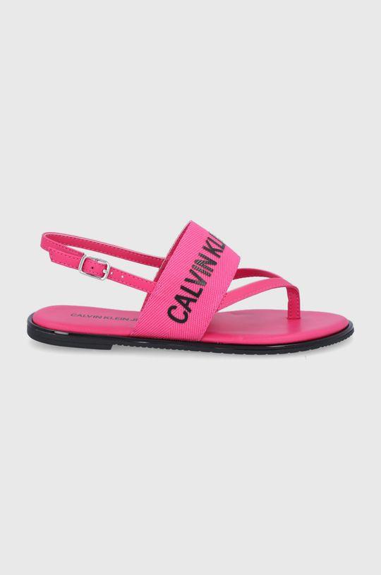 różowy Calvin Klein Jeans - Sandały Damski
