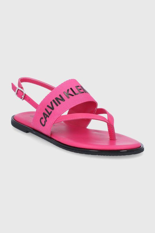 Calvin Klein Jeans - Sandały różowy