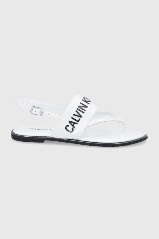 bílá Calvin Klein Jeans - Sandály Dámský