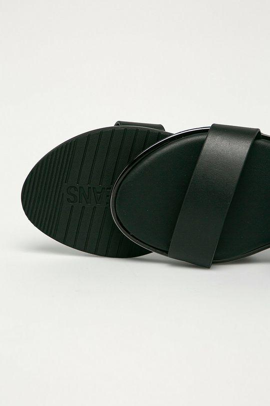 Calvin Klein Jeans - Kožené šľapky  Zvršok: Prírodná koža Vnútro: Syntetická látka, Prírodná koža Podrážka: Syntetická látka