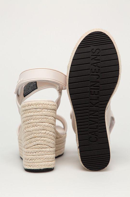 Calvin Klein Jeans - Sandály  Svršek: Umělá hmota, Textilní materiál Vnitřek: Umělá hmota, Textilní materiál Podrážka: Umělá hmota