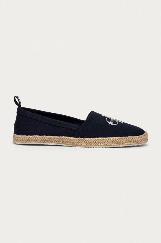 námořnická modř Calvin Klein Jeans - Espadrilky Dámský
