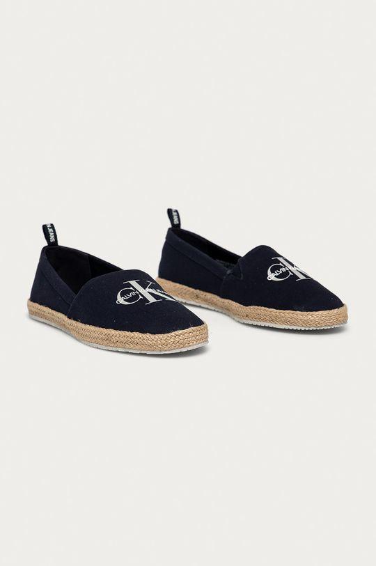 Calvin Klein Jeans - Espadrilky námořnická modř
