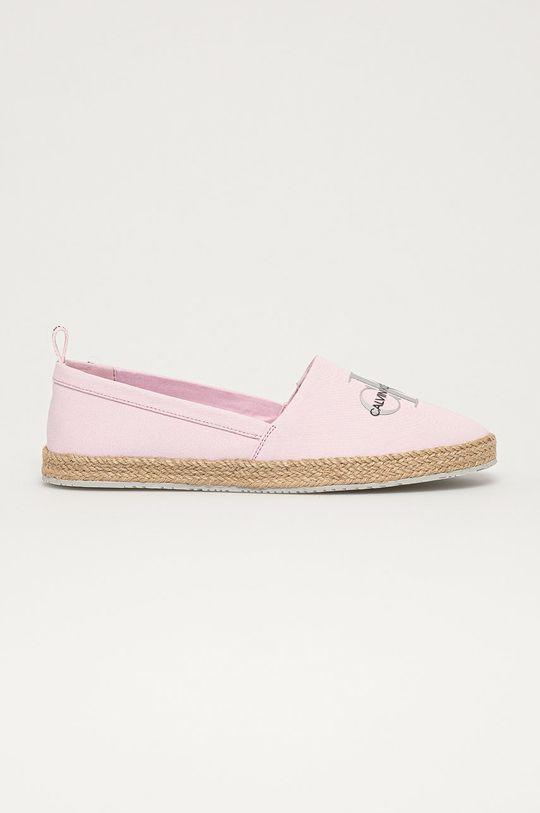różowy Calvin Klein Jeans - Espadryle Damski