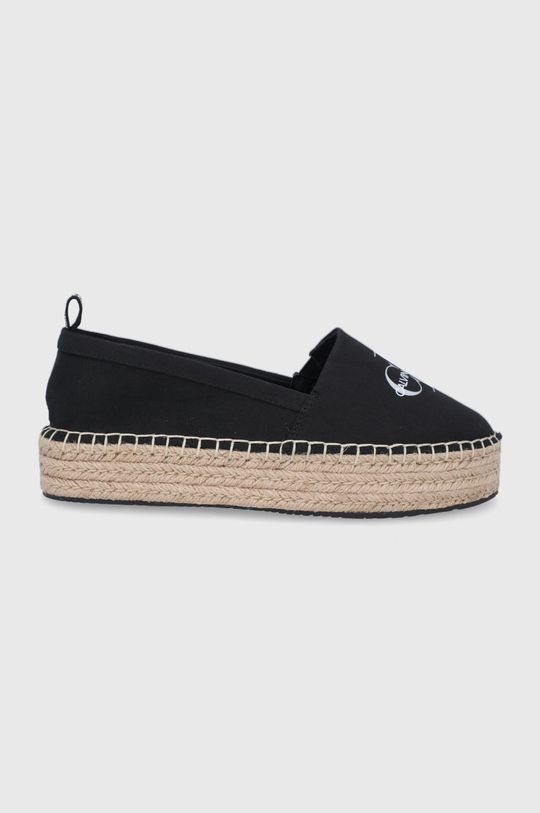 čierna Calvin Klein Jeans - Espadrilky Dámsky