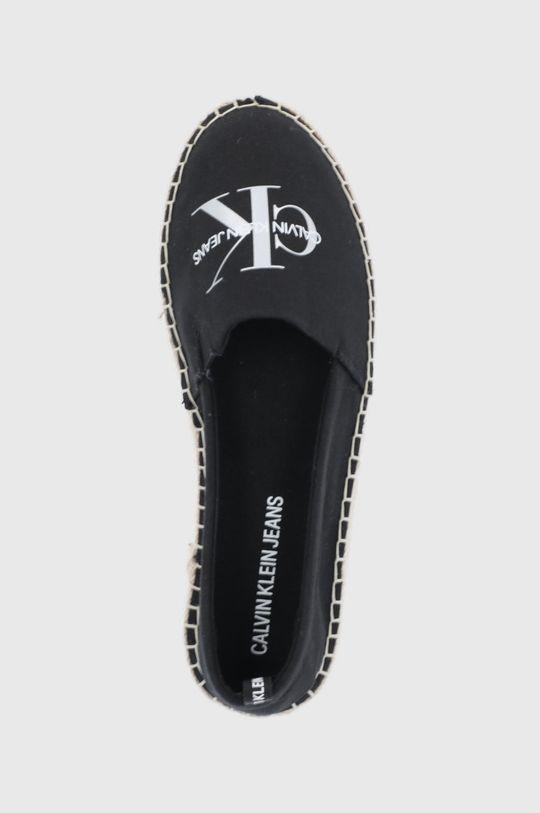 čierna Calvin Klein Jeans - Espadrilky