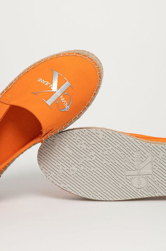 oranžová Calvin Klein Jeans - Espadrilky