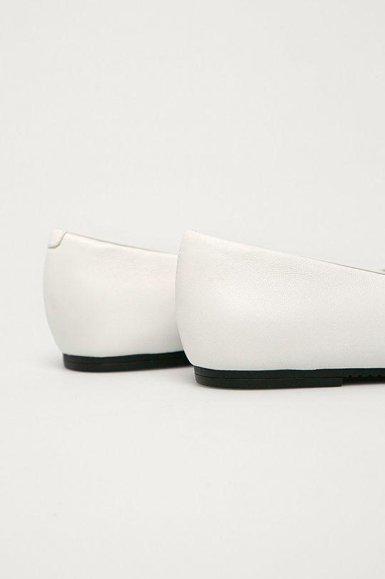 Calvin Klein Jeans - Balerini de piele  Gamba: Piele naturala Interiorul: Material sintetic, Piele naturala Talpa: Material sintetic