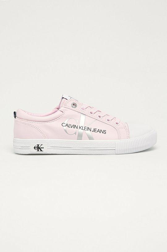 růžová Calvin Klein Jeans - Tenisky Dámský
