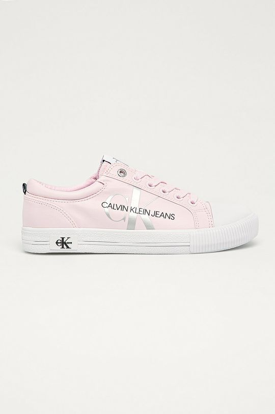 roz Calvin Klein Jeans - Tenisi De femei