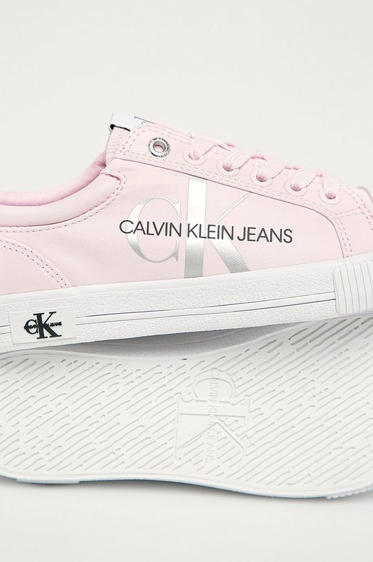 růžová Calvin Klein Jeans - Tenisky