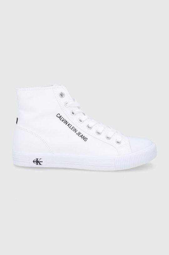 biały Calvin Klein Jeans - Trampki Damski