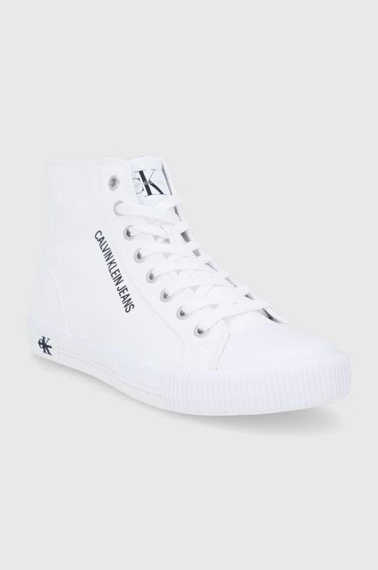 Calvin Klein Jeans - Trampki biały