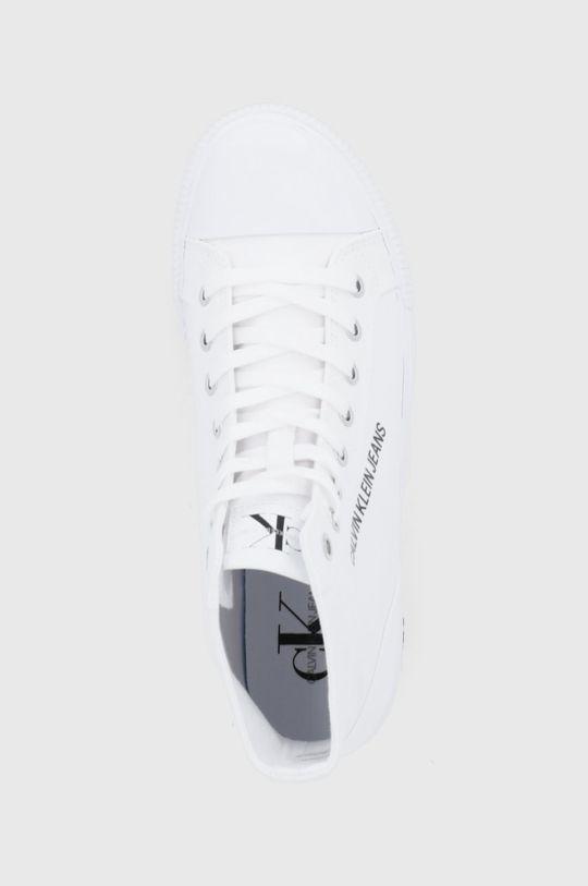 biały Calvin Klein Jeans - Trampki