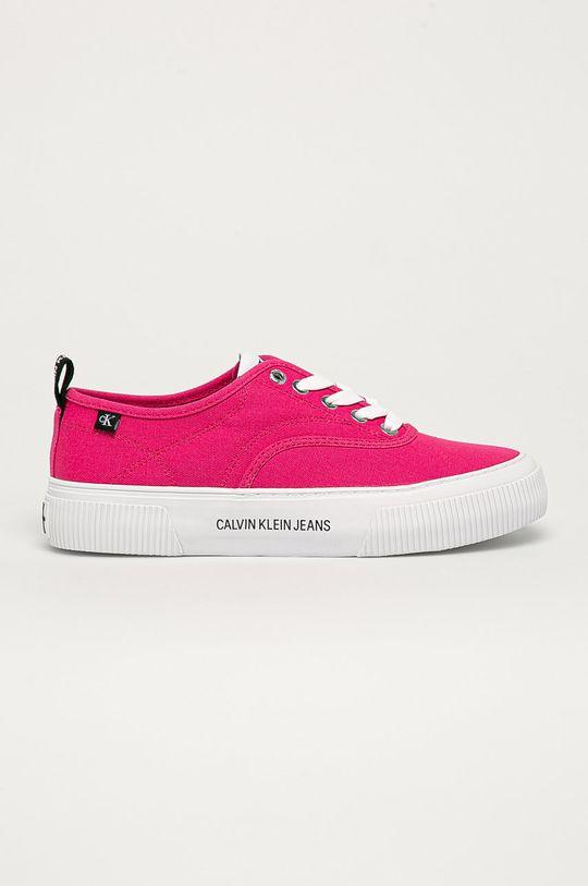 różowy Calvin Klein Jeans - Tenisówki Damski