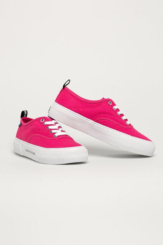 Calvin Klein Jeans - Tenisówki różowy