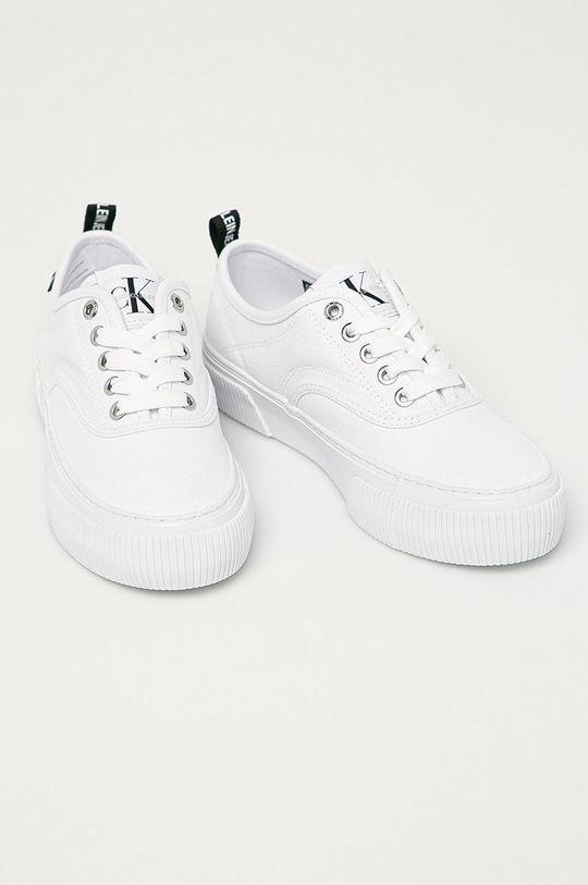 Calvin Klein Jeans - Tenisky bílá