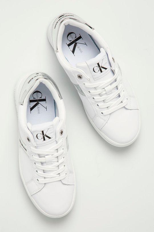 bílá Calvin Klein Jeans - Boty