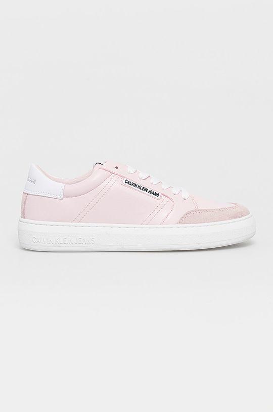 růžová Calvin Klein Jeans - Boty Dámský