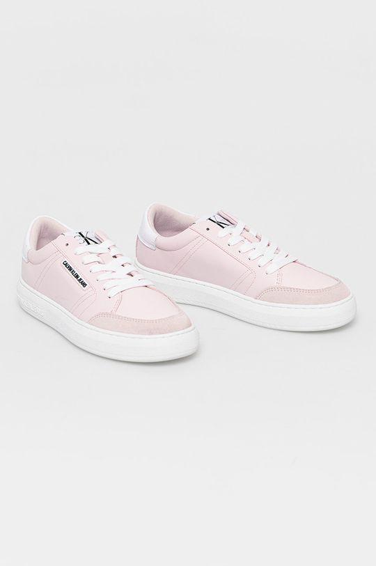Calvin Klein Jeans - Boty růžová