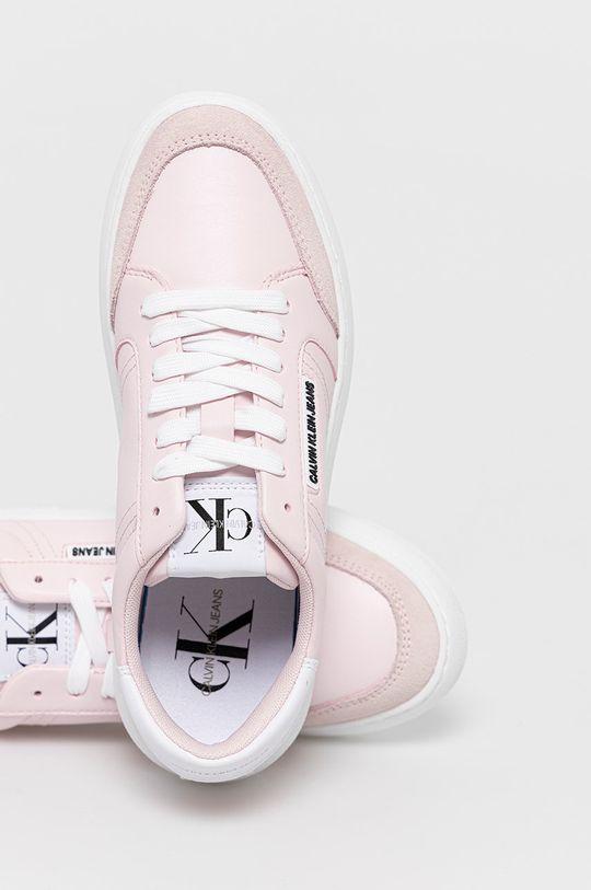 růžová Calvin Klein Jeans - Boty