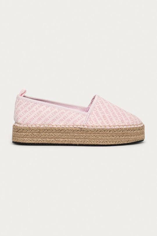 růžová Calvin Klein Jeans - Espadrilky Dámský