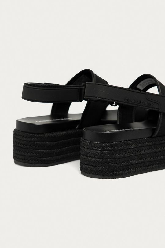 Calvin Klein Jeans - Sandale  Gamba: Material sintetic, Material textil Interiorul: Material sintetic, Material textil Talpa: Material sintetic