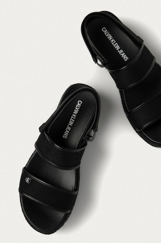 negru Calvin Klein Jeans - Sandale