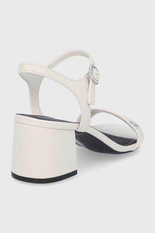 Calvin Klein Jeans - Kožené sandály  Svršek: Přírodní kůže Vnitřek: Umělá hmota, Přírodní kůže Podrážka: Umělá hmota