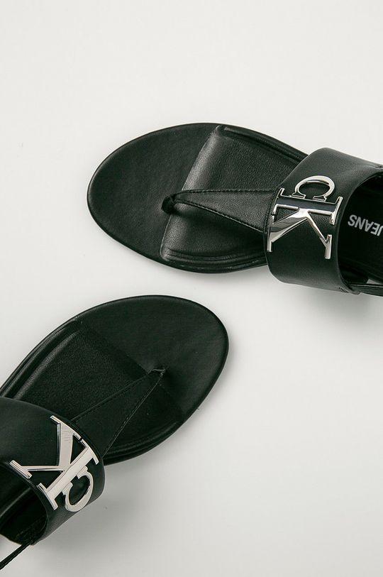 Calvin Klein Jeans - Kožené sandále Dámsky