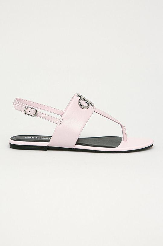 růžová Calvin Klein Jeans - Sandály Dámský