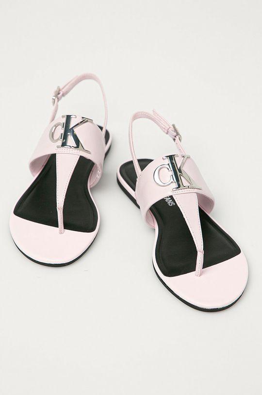 Calvin Klein Jeans - Sandály růžová