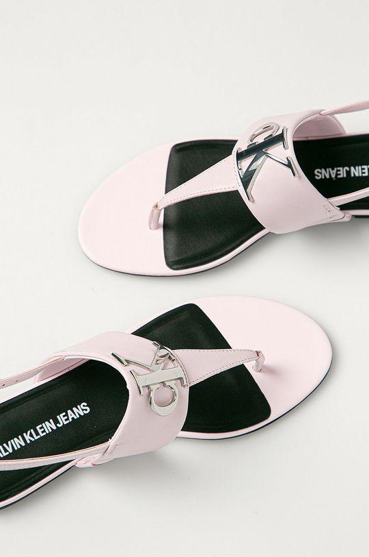 růžová Calvin Klein Jeans - Sandály