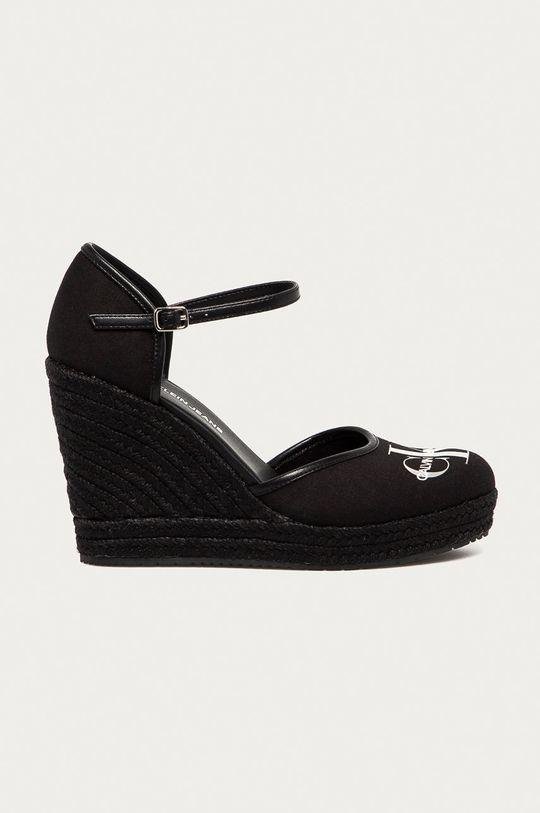 czarny Calvin Klein Jeans - Espadryle Damski