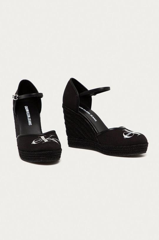 Calvin Klein Jeans - Espadryle czarny