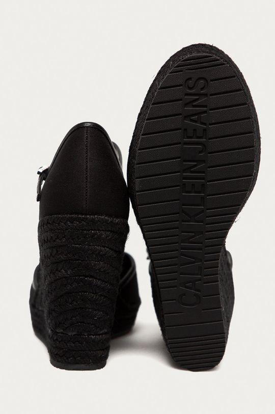 Calvin Klein Jeans - Espadryle Cholewka: Materiał syntetyczny, Materiał tekstylny, Wnętrze: Materiał syntetyczny, Materiał tekstylny, Podeszwa: Materiał syntetyczny