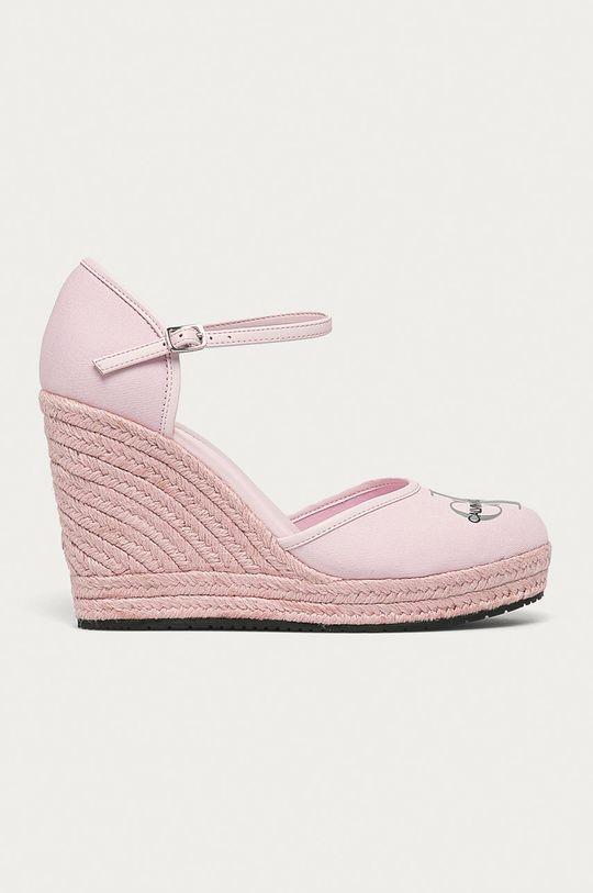 roz Calvin Klein Jeans - Espadrile De femei