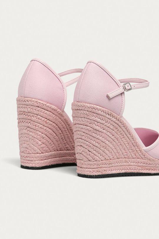 Calvin Klein Jeans - Espadrile  Gamba: Material sintetic, Material textil Interiorul: Material textil Talpa: Material sintetic