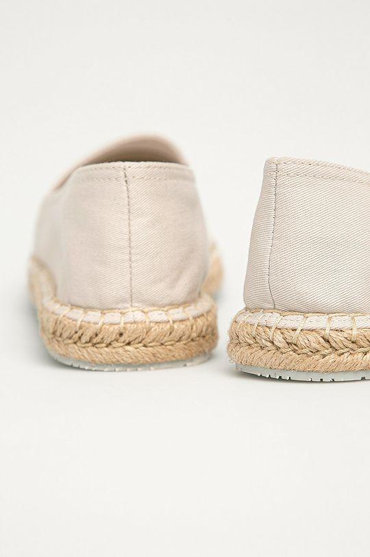 Calvin Klein Jeans - Espadrile  Gamba: Material textil Interiorul: Material textil Talpa: Material sintetic