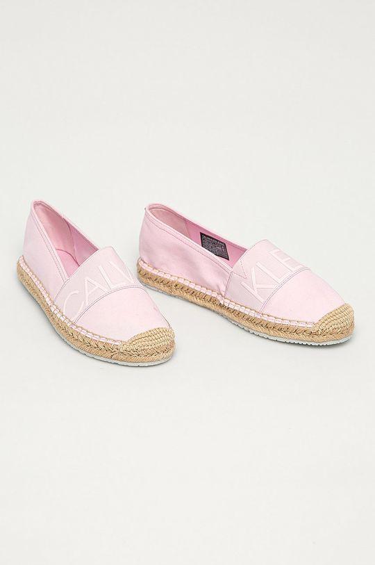 Calvin Klein Jeans - Espadrilky růžová
