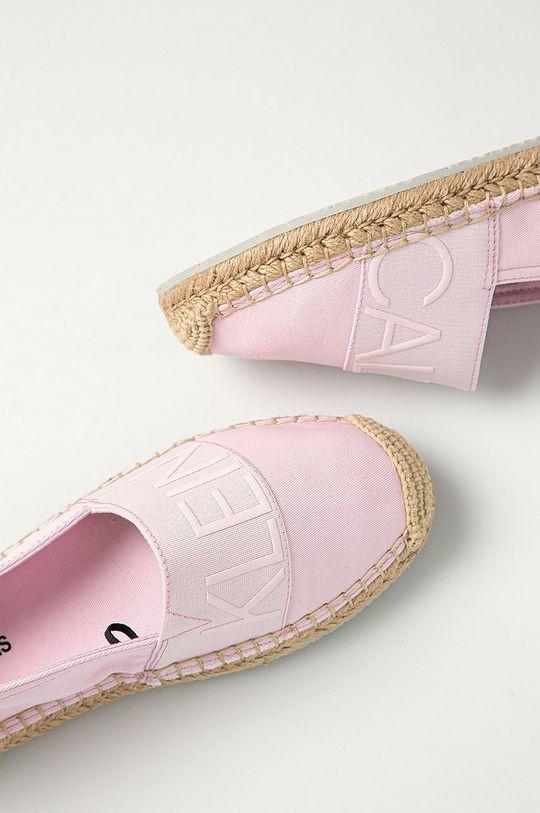 růžová Calvin Klein Jeans - Espadrilky