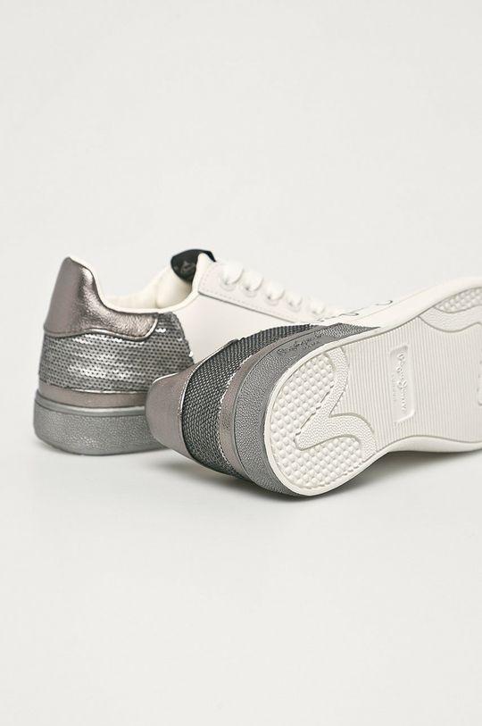 Pepe Jeans - Kožené boty Brompton Dual  Svršek: Umělá hmota, Přírodní kůže Vnitřek: Umělá hmota, Textilní materiál Podrážka: Umělá hmota