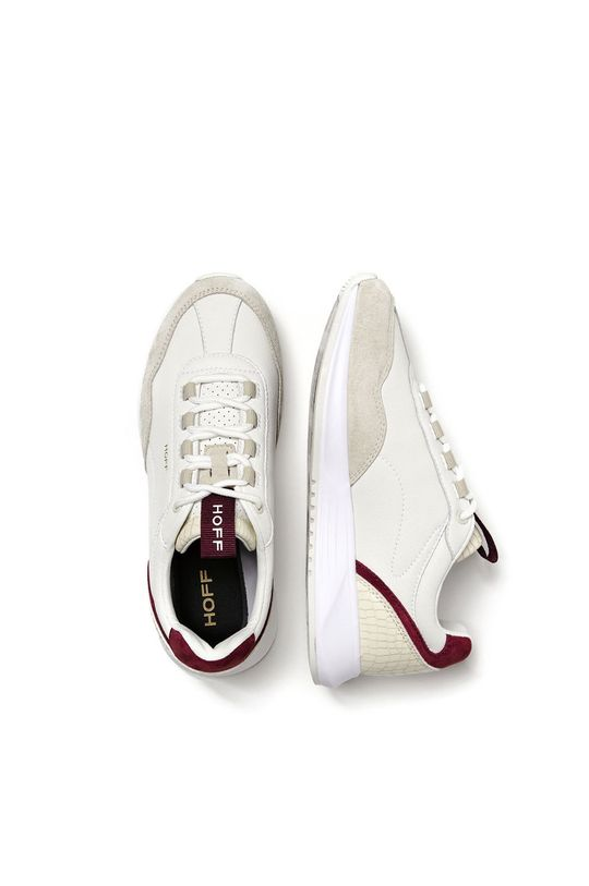 Hoff - Kožená obuv Ocean Drive  Zvršok: Prírodná koža, Semišová koža Podrážka: Syntetická látka Vložka: Textil