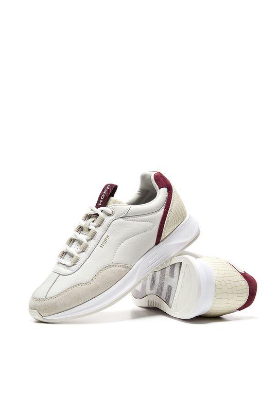 biela Hoff - Kožená obuv Ocean Drive