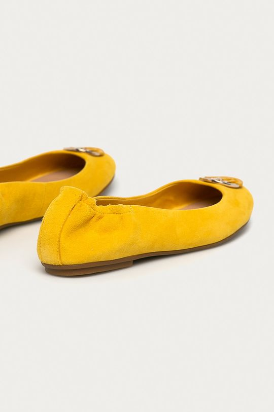 Tommy Hilfiger - Semišové baleríny  Zvršok: Semišová koža Vnútro: Textil, Prírodná koža Podrážka: Syntetická látka