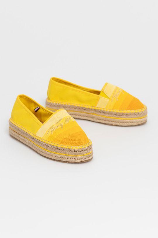 Tommy Hilfiger - Espadrilky žlutá