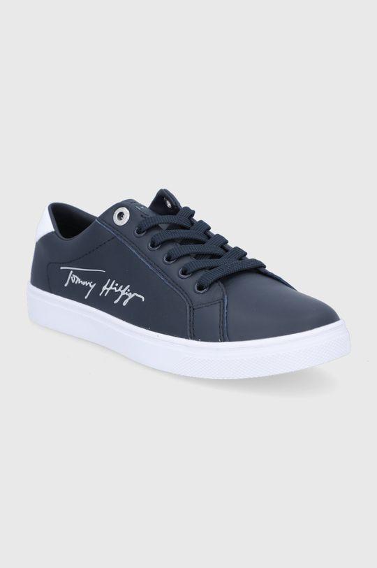 Tommy Hilfiger - Topánky tmavomodrá