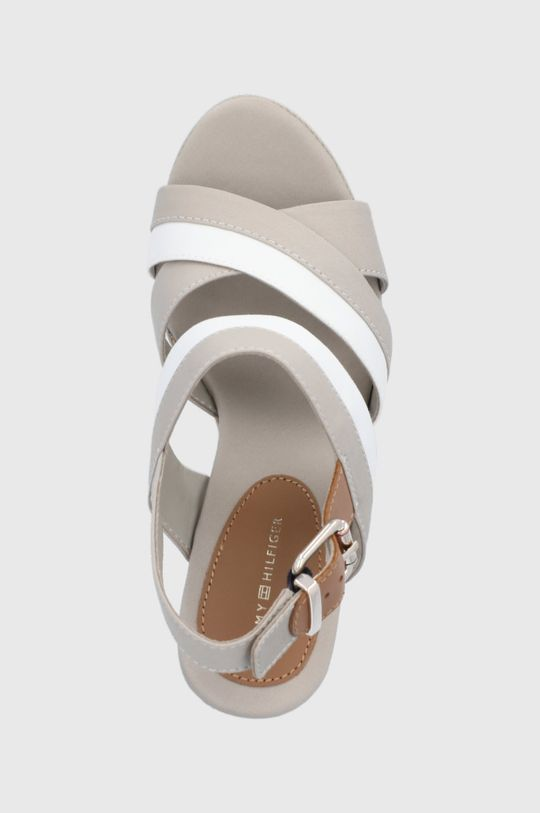 svetlosivá Tommy Hilfiger - Sandále