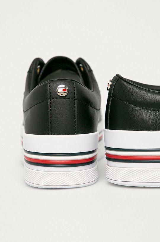 Tommy Hilfiger - Kožené boty  Svršek: Přírodní kůže Vnitřek: Umělá hmota, Textilní materiál Podrážka: Umělá hmota